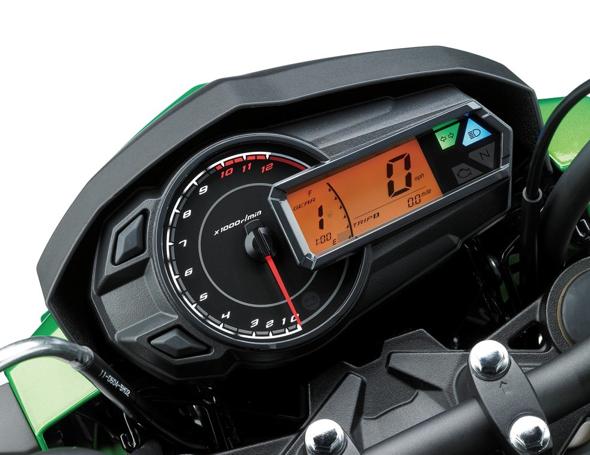 Kawasaki Z125 Pro Dash
