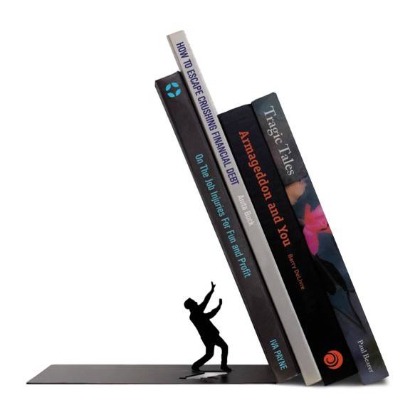 Clever bookend