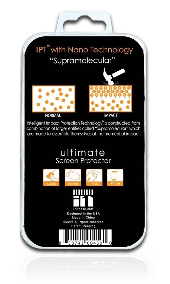 In1 NanoShield Packaging Rear