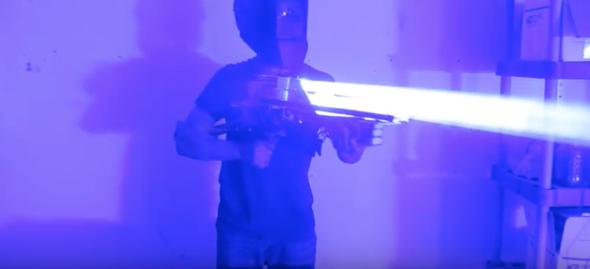 200 Watt Homemade Laser Gun