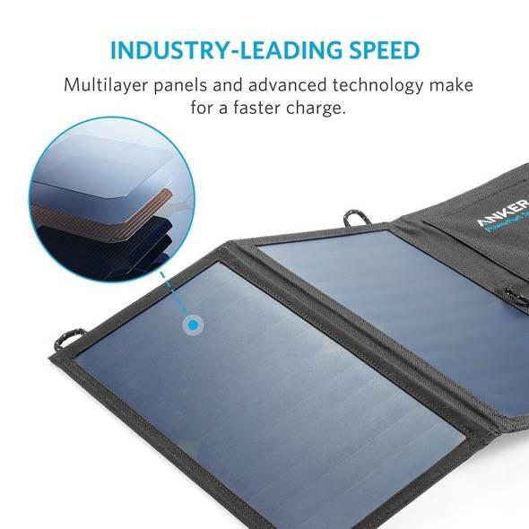 Anker 15W Solar Charger IQ