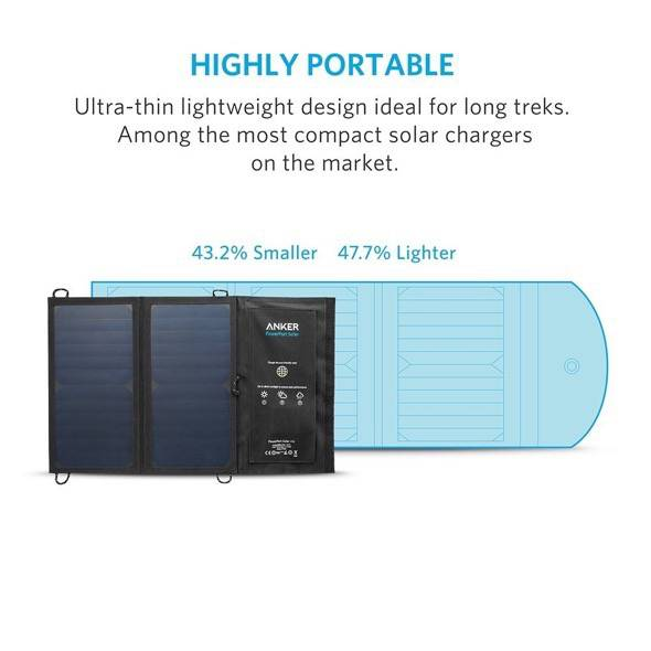 Anker 15W Solar Charger Portable