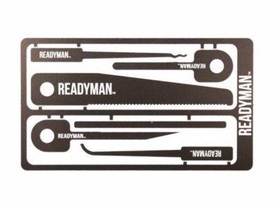 ReadyMan Hostage Survival Card Tool