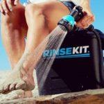 RinseKit Pressurized Portable Shower Sprayer