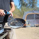 RinseKit Pressurized Portable Shower Sprayer For Camping