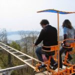 SkyCycle Pedal Powered Japanese Roller Coaster 2