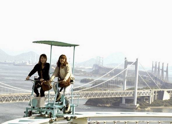SkyCycle Pedal Powered Japanese Roller Coaster 4