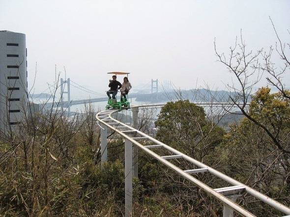 SkyCycle Pedal Powered Japanese Roller Coaster 6