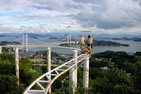 SkyCycle Pedal Powered Japanese Roller Coaster