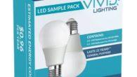 Vivid Lighting LED Sample Pack Packaging Front