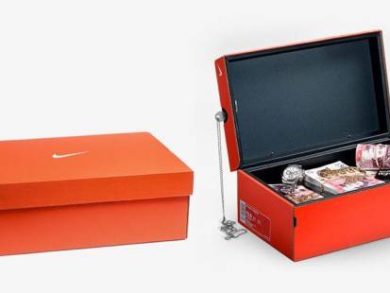 Nike Shoebox Safe
