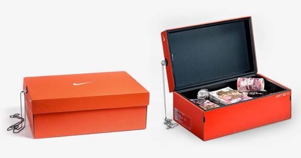 Nike Shoebox Safe
