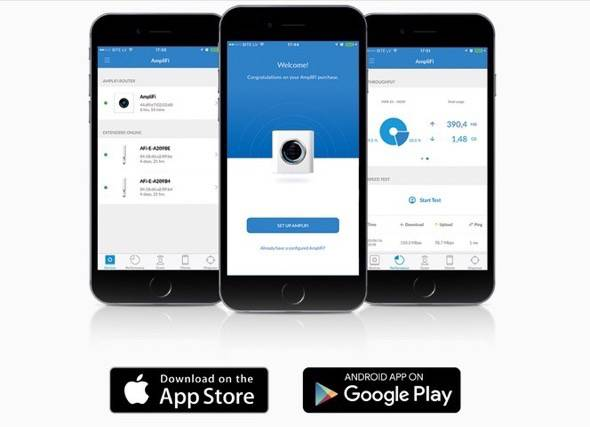 Ubiquiti Labs Amplifi Router App
