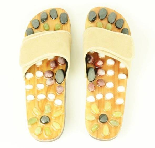 iLiving Natural Stone Massage Shoes