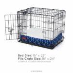 Brindle Waterproof Designer Memory Foam Pet Bed 1