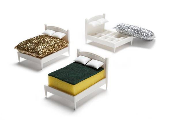 Clean Dreams Tiny Bed Kitchen Sponge Holder 1