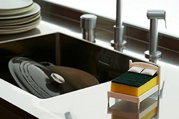 Clean Dreams Tiny Bed Kitchen Sponge Holder 2