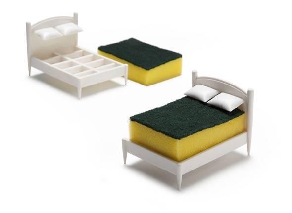 Clean Dreams Tiny Bed Kitchen Sponge Holder 5