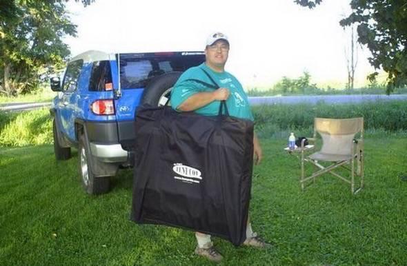 K&-Rite Tent Cot Folded Up ... & Kamp-Rite Tent Cot | GadgetKing.com
