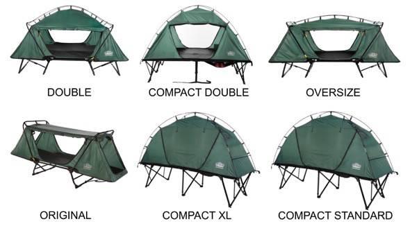 Kamp-Rite Tent Cot Variations