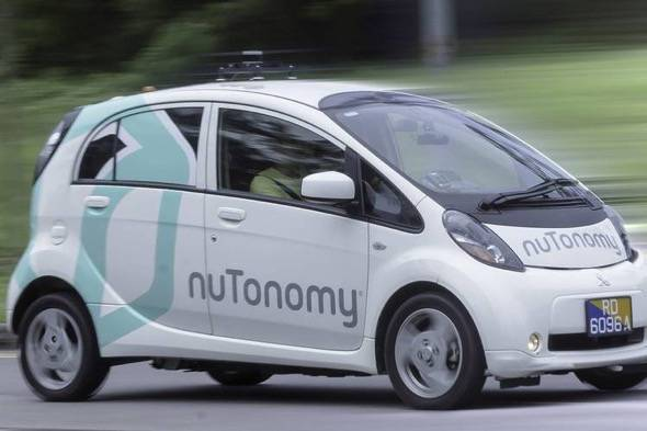 NuTonomy Self Driving Taxi