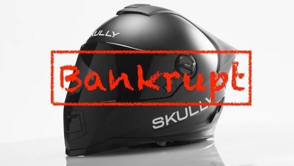 Skully Helmet Bankrupt