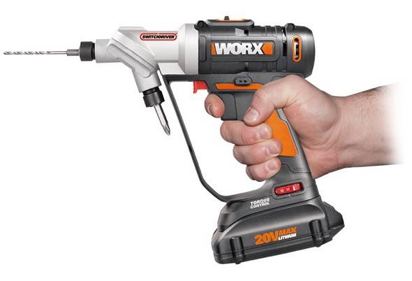 Worx Switchdriver WX176L Drill 2