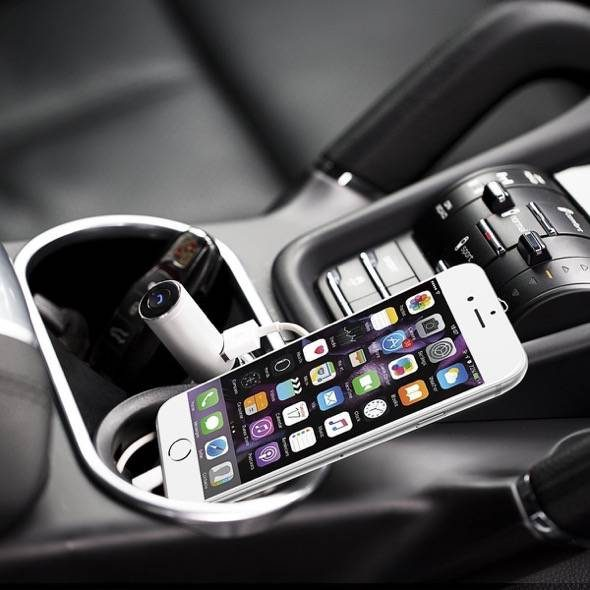 evoplus-q9-bluetooth-headset-and-car-charger-plugged-in