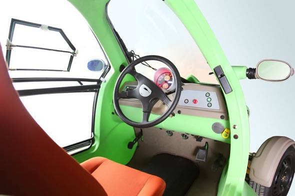 SAM Electric Vehicle Interior