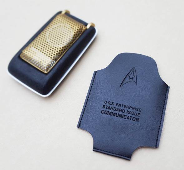 Star Trek TOS Communicator Closed