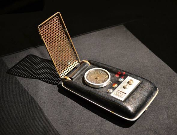 Star Trek TOS Communicator Handset