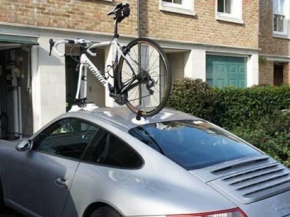 Great Sea Sucker Suction Cup Car Roof Rack Bike