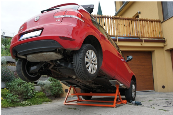 Autolift 3000 Ultra Thin Car Lift Gadgetking Com