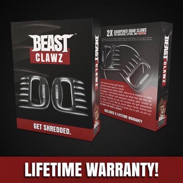 Grill Beast Clawz Meat Shredder Claws Packaging