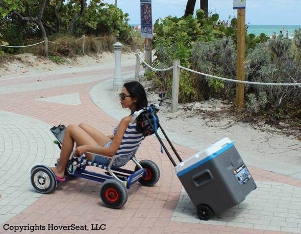 HoverSeat Hoverboard Chair Conversion Kit Towing