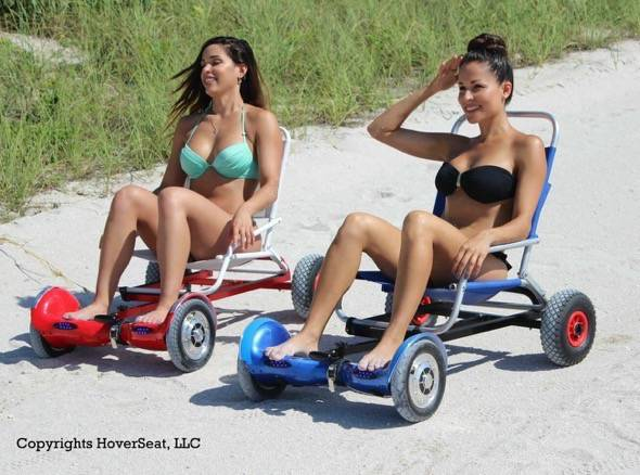 HoverSeat Hoverboard Chair Conversion Kit