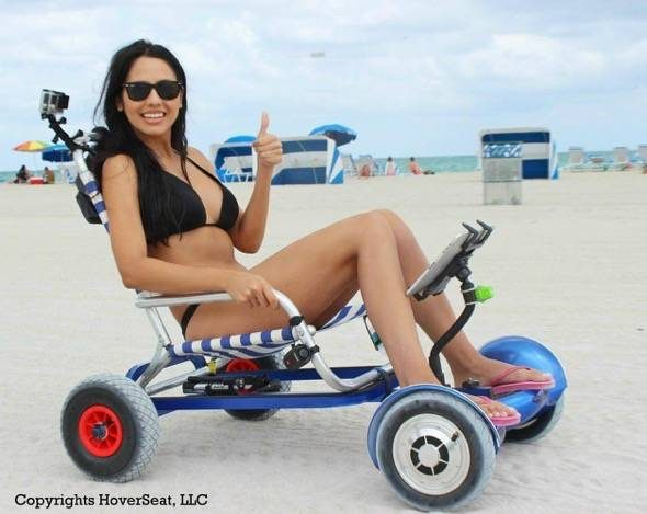 HoverSeat Hoverboard Chair Conversion System