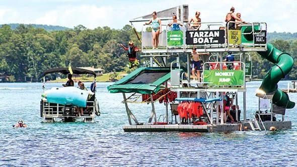 Tarzan Boat Double Jump