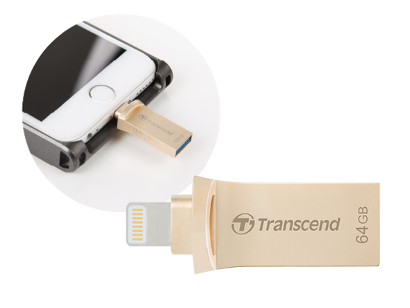 Transcend JetDrive Go 500 iPhone
