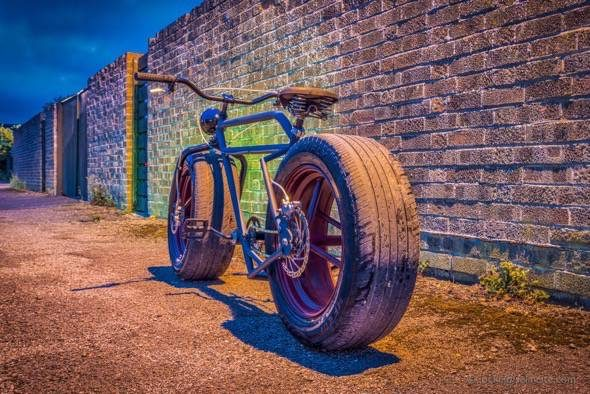 Car Wheel Bicycle How To Build