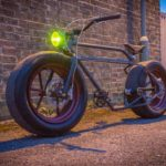 Car Wheel Bicycle Light