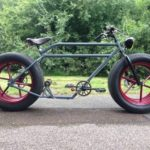 Car Wheel Bicycle Side View
