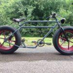 Car Wheel Bicycle Side View