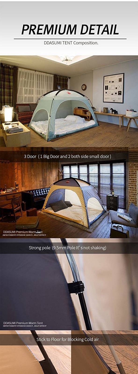 DDASUMI Bed Tent Colors