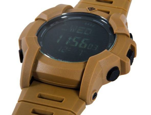 First Tactical Canyon Digital Compass Watch Coyote