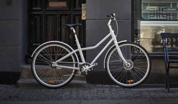 IKEA SLADDA Bicycle White