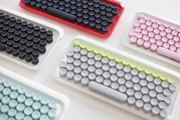 Lofree Mechanical Typewriter Style Keyboard Colors