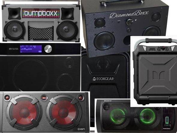 Modern Bluetooth Boomboxes