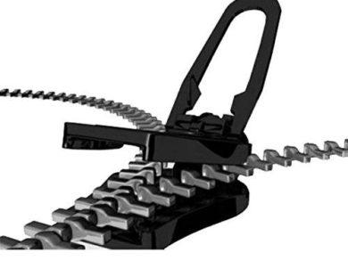 ADSRO 6Pc Universal Instant Fix Zipper Repair Replacement Zip 2
