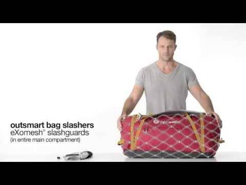 Pacsafe Duffelsafe Anti-Theft Bag eXomesh Slashguard